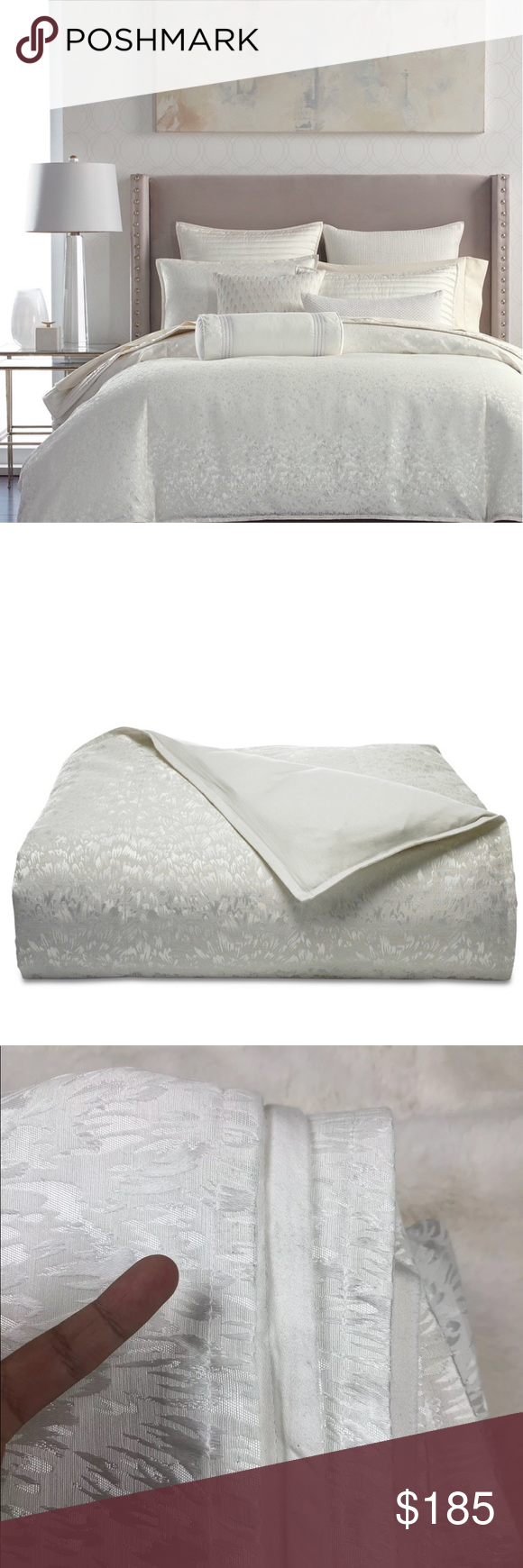 Hotel Collection Plume King Duvet Cover