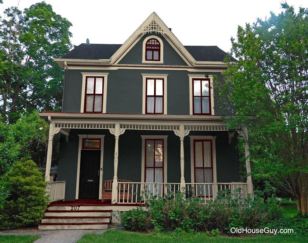 Painted Victorian Stucco Country House Colors