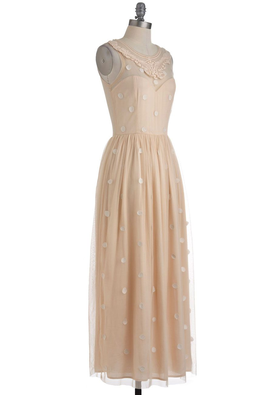 Vintage wedding dress under 500  Emily and Fin Day After Day ALine Dress in Shooting Stars  Wedding