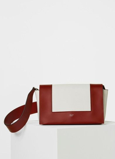Medium Frame Shoulder Bag in Smooth Calfskin - Céline  be9be4548e39e