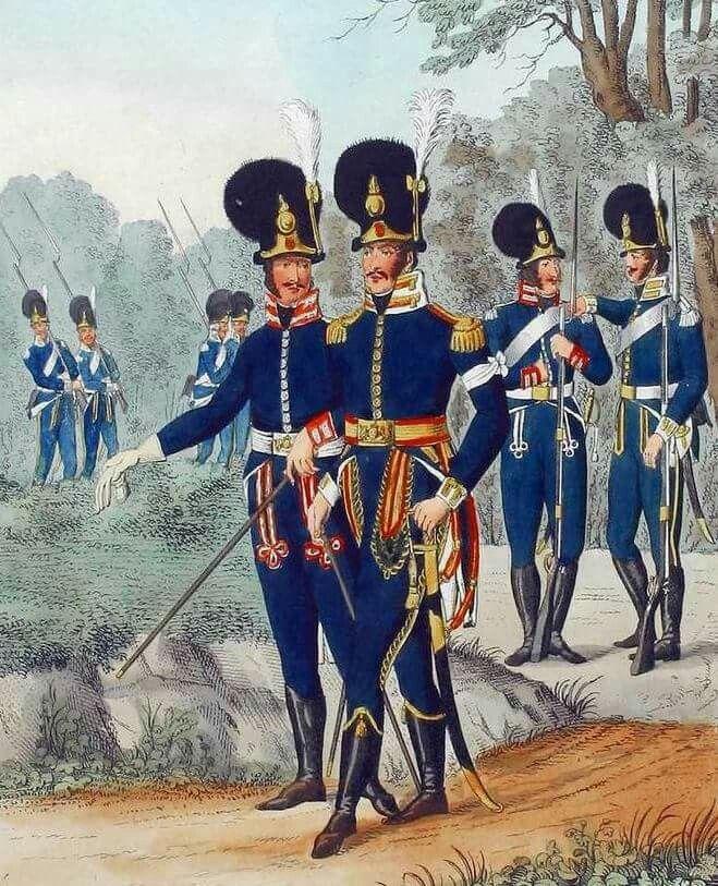 Grenadiers de la Garde, 1810
