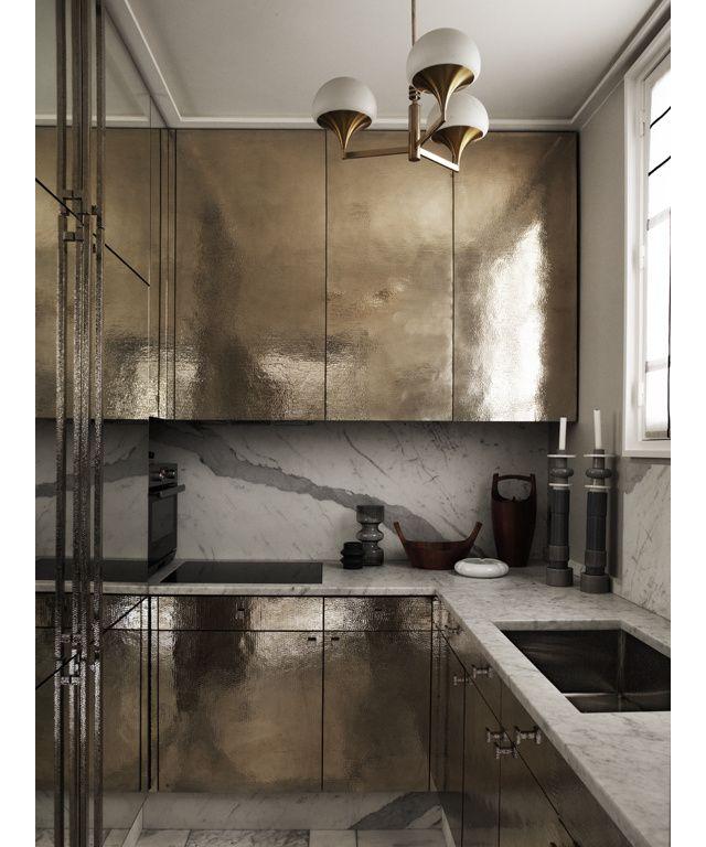 La haute d coration en version 100m2 int rieur de - Refaire sa cuisine rustique en moderne ...