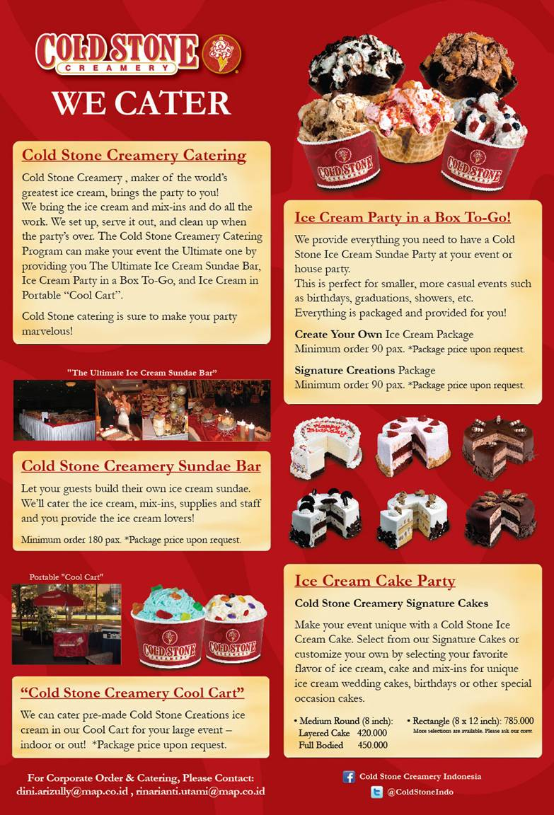 Cold Stone Creamery Now Caters To Your Event Isnt That Just