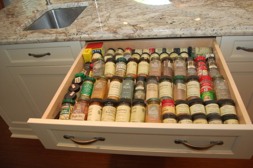 organized kitchen drawers definitely need a spice drawer like this general 1255