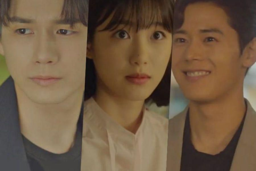 Watch: Ong Seong Wu Is Unhappy With How Close Shin Ye Eun And Kim Dong Jun Are In Teaser For Upcoming JTBC Drama