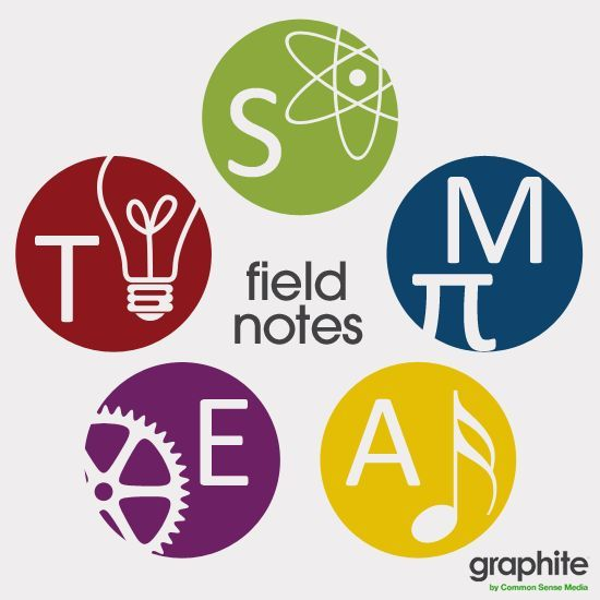 Science Technology Engineering Math: STEAM Field Note Campaign This Month, We're Highlighting