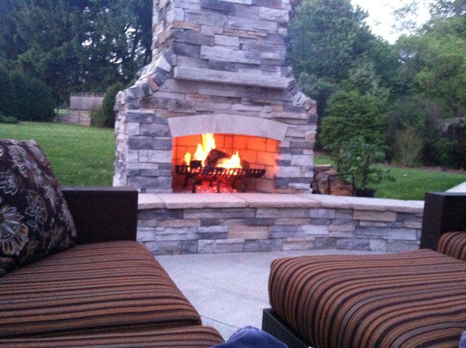 Custom Brick Outdoor Fireplaces Fireplace Outdoor Outdoor