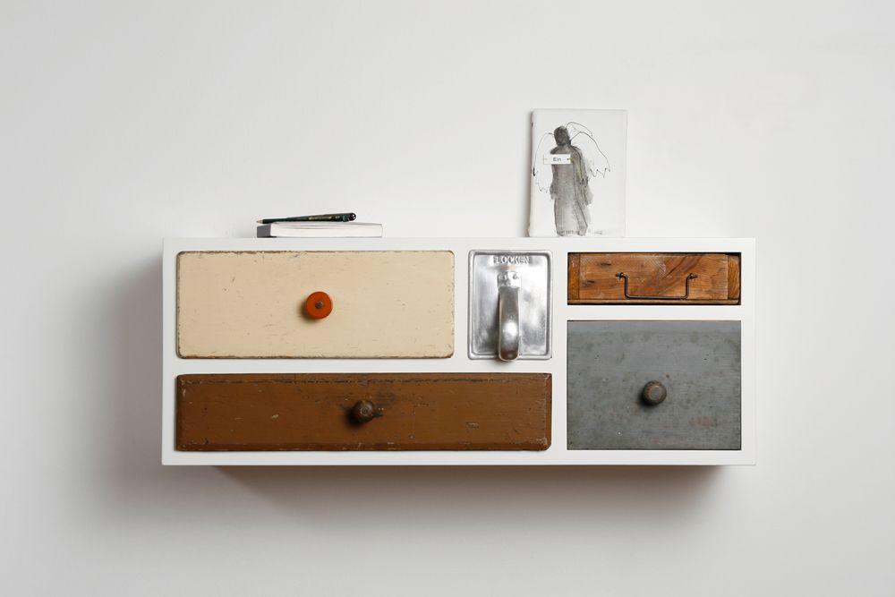 Tiroirs Vintages Revisites Chez Schubladen Tiroir Mobilier De Salon Console Tiroir