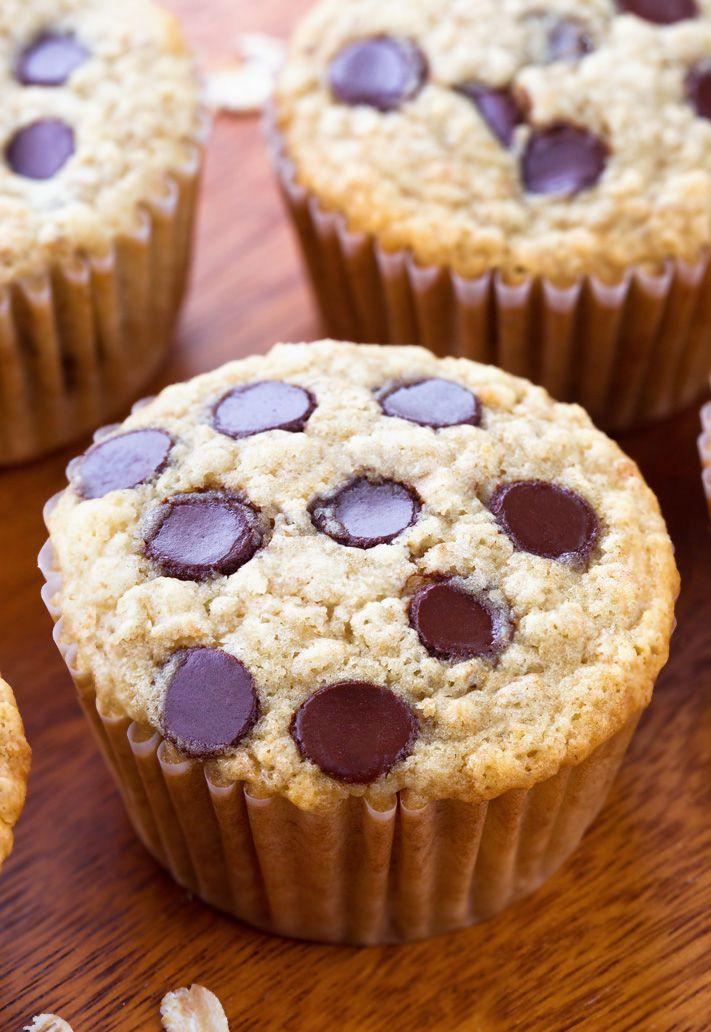 Muffins de avena - ¡La MEJOR receta fácil!