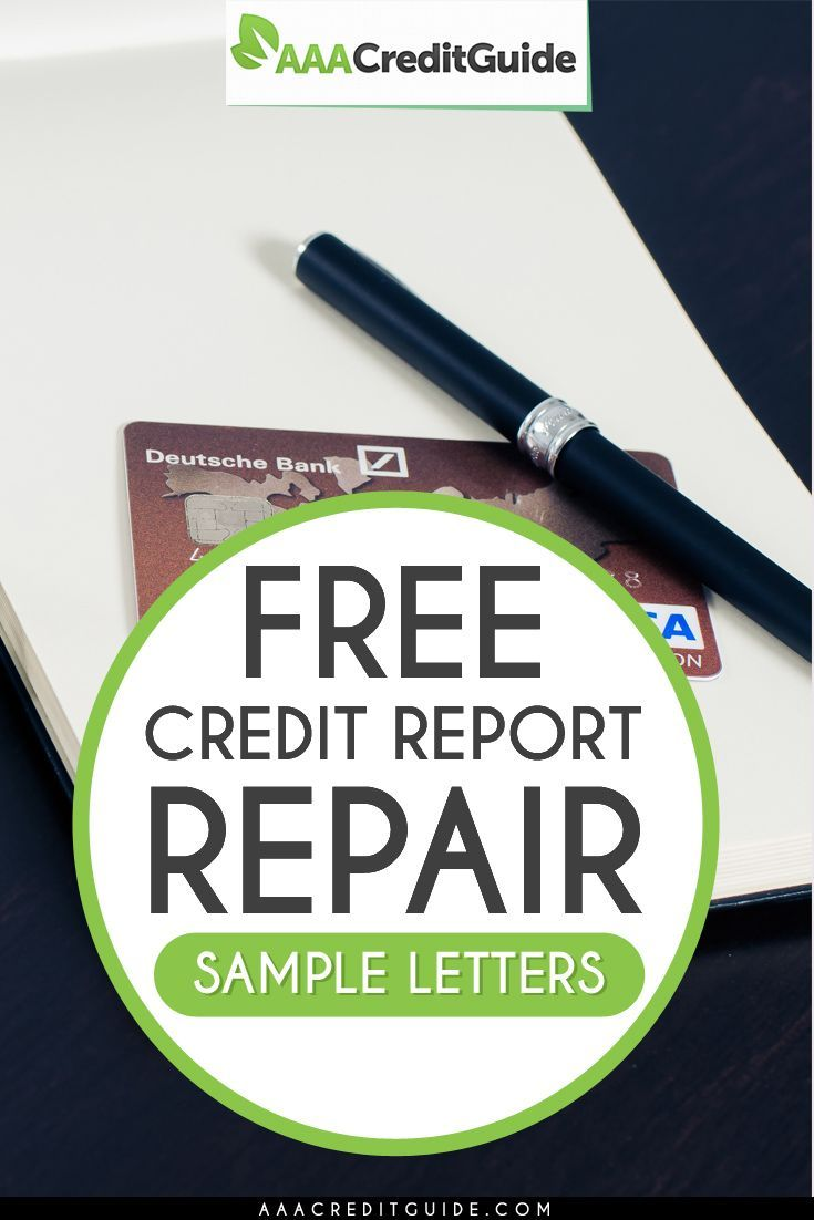 Free Credit Repair Sample Letters For  Proven Templates