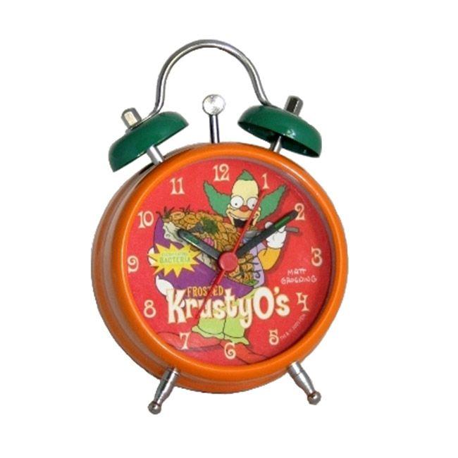 Le r veil simpson de krusty le clown l 39 idole de bart - Reveil simpson ...