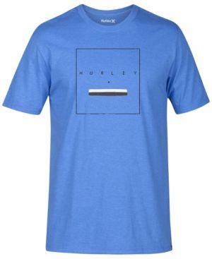 Hurley Men's Above Ground T-Shirt - Blue 2XL