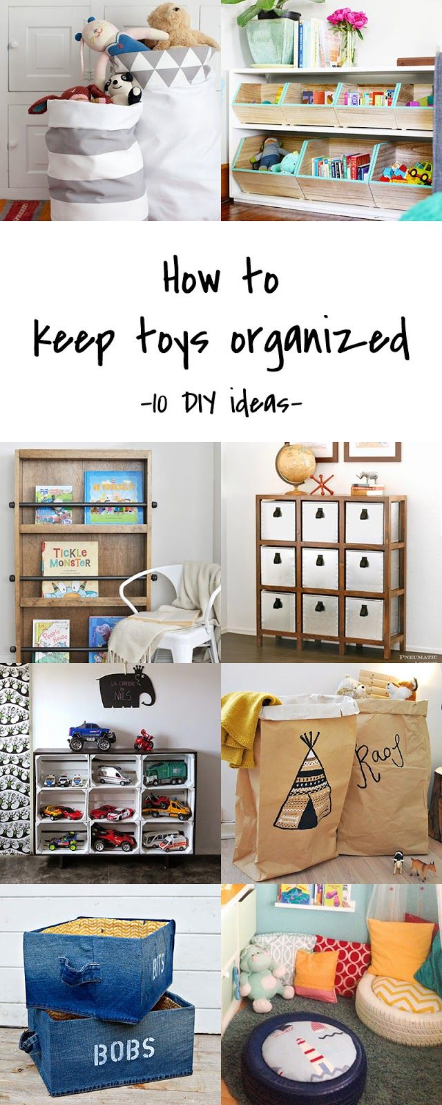 Coole Sachen Für Kinder Diy To Try Toy Storage Coole Sachen Pinterest Kinderzimmer