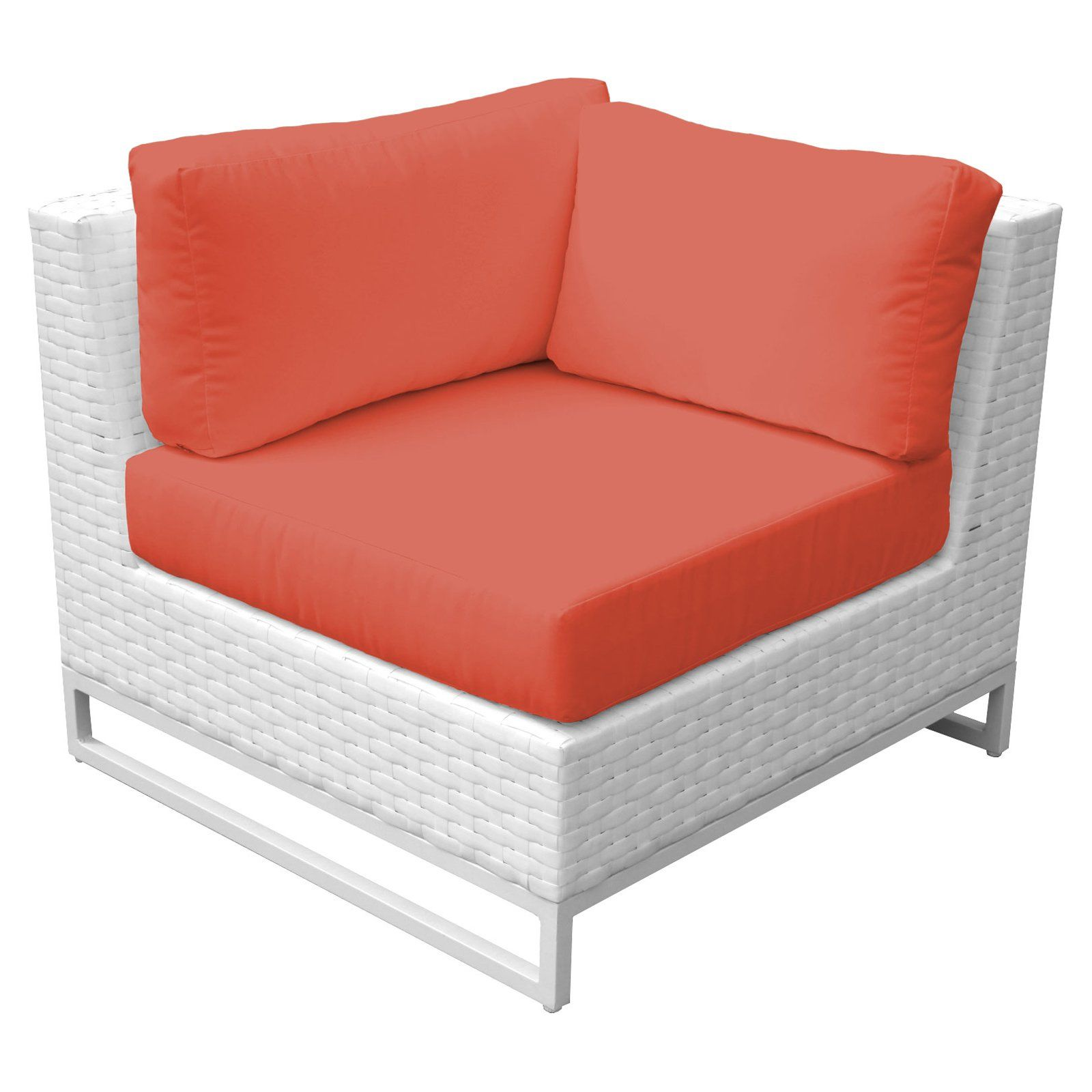 Fabulous Tk Classics Miami Outdoor Corner Sofa Set Of 2 Wheat Caraccident5 Cool Chair Designs And Ideas Caraccident5Info