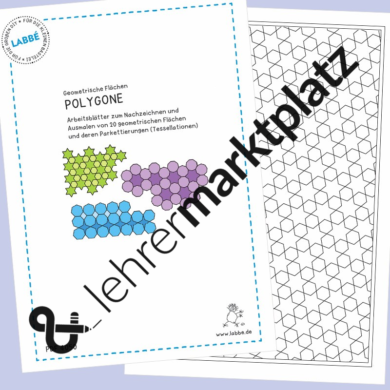 Contemporary Fläche Eines Polygons Arbeitsblatt Elaboration ...