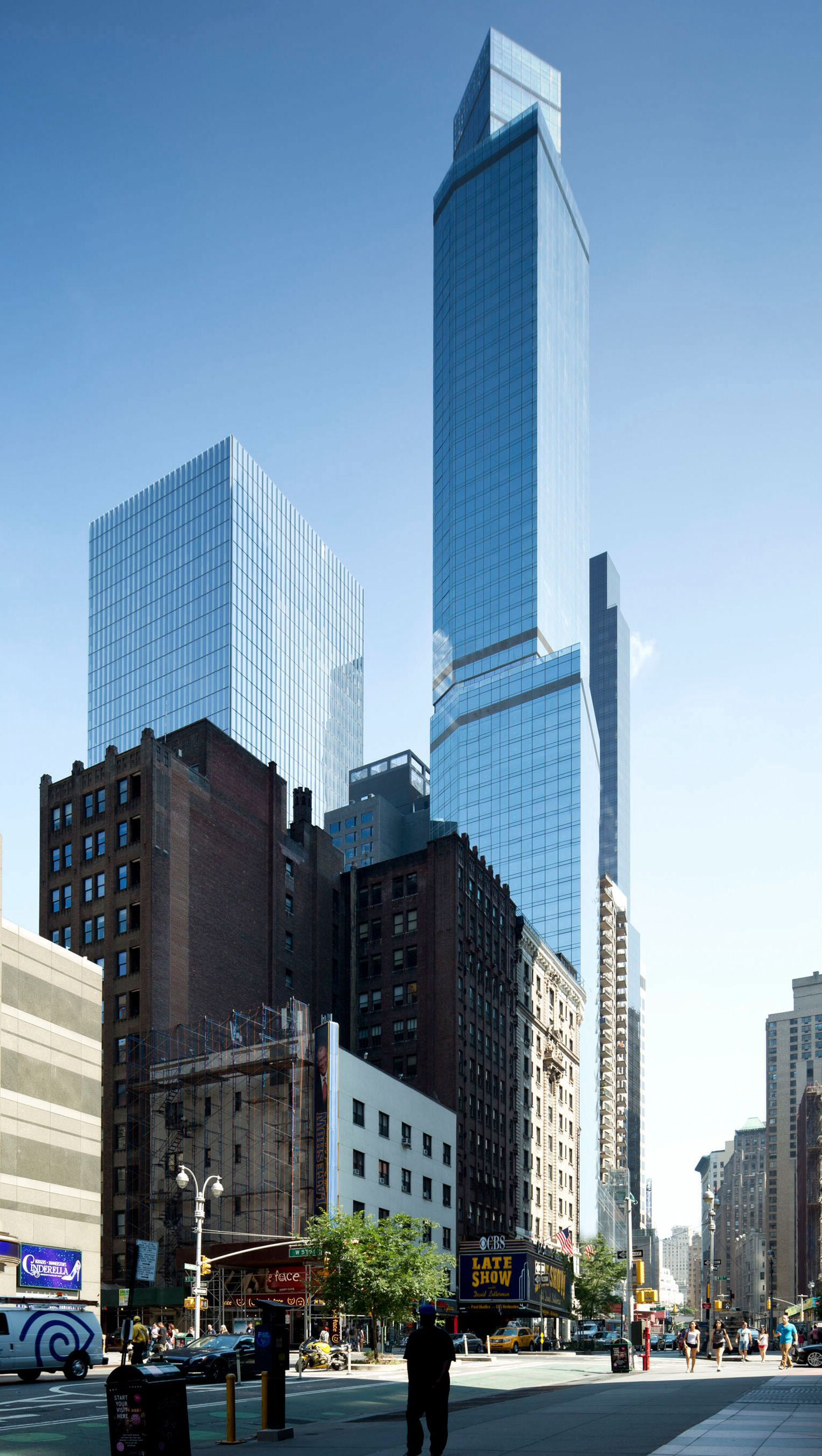 47) 1717 Broadway (The Courtyard by Marriott) | 230m | 753 ft | 68 ...