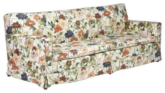12 Floral Pattern Sofa Designs Rilane The Belief In Angels The Play Floral Sofa Sofa Design Printed Sofa