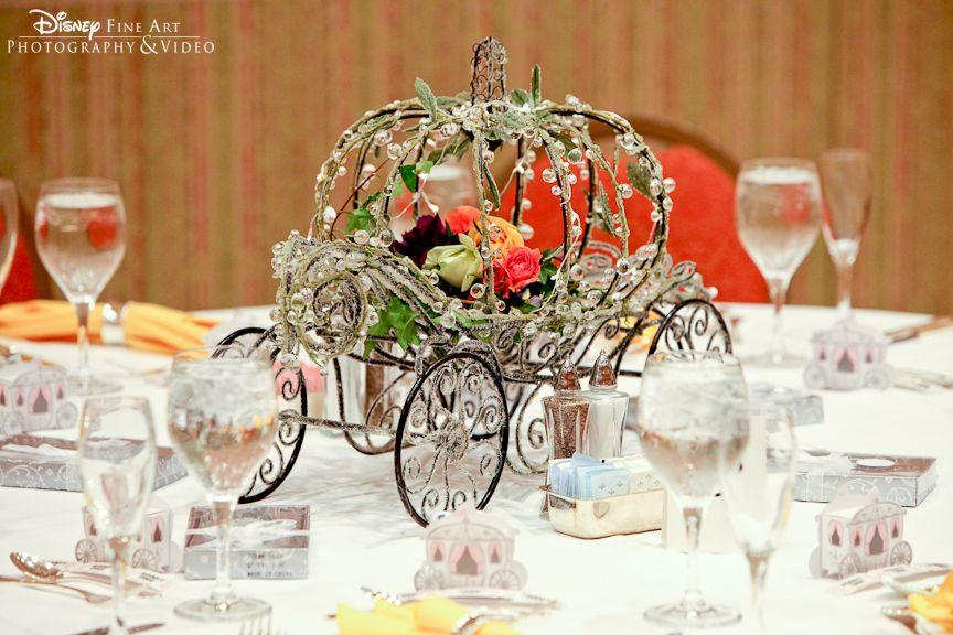 Disney Wedding Centerpieces Disneys Fairy Tale Wedding