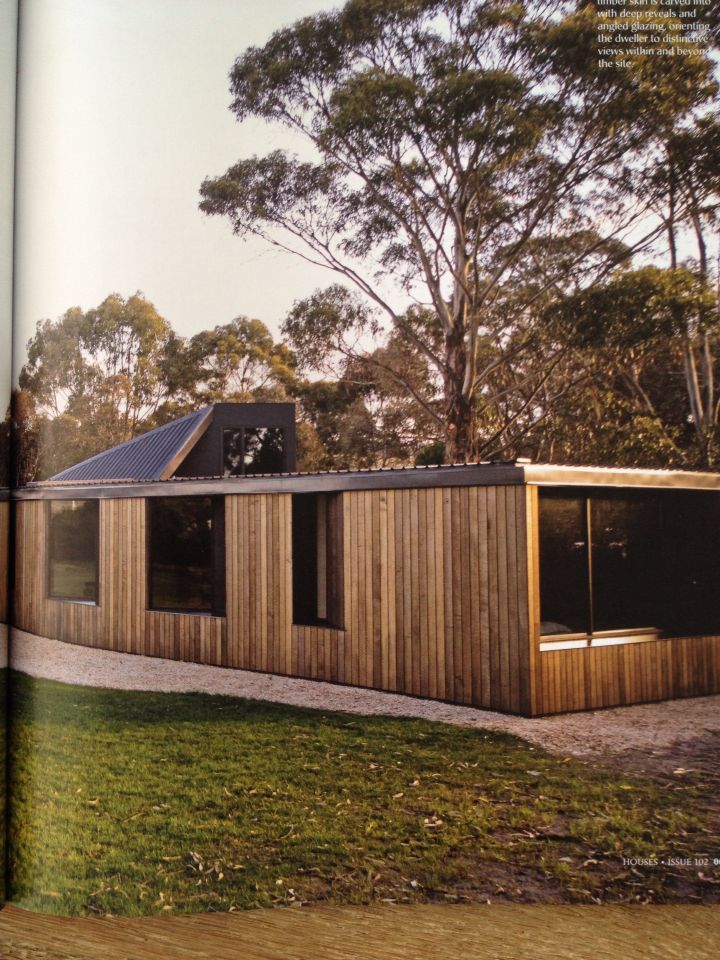 Lagoon House By Taylor Hinds Architects Spotted Gum Cladding