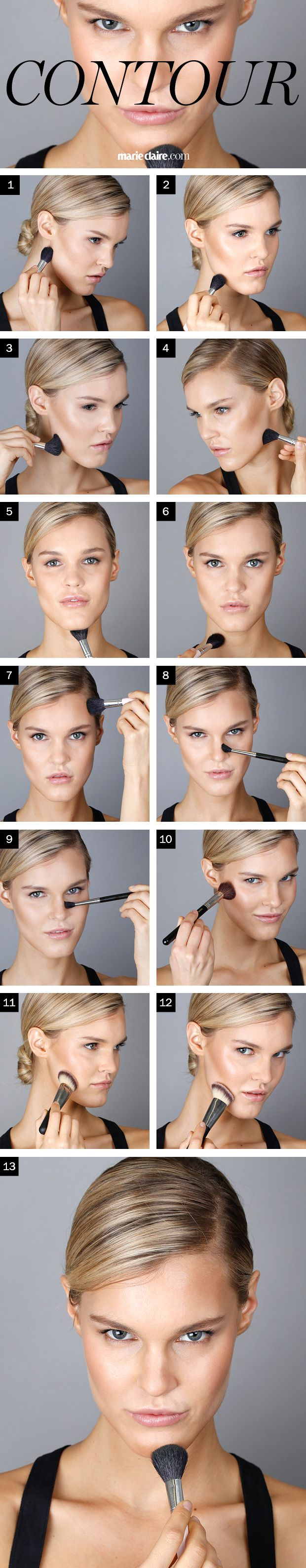 Finally, the Easiest Way to Contour Your Face If You're ...