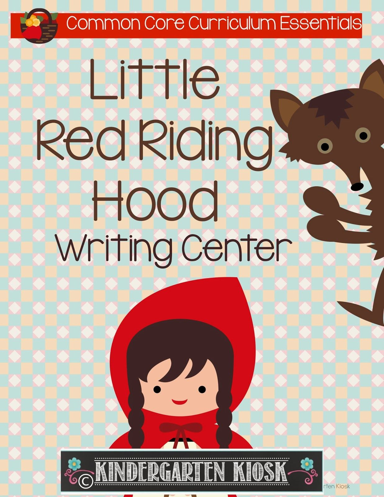 Writing Center Activities And Worksheets Little Red Hen
