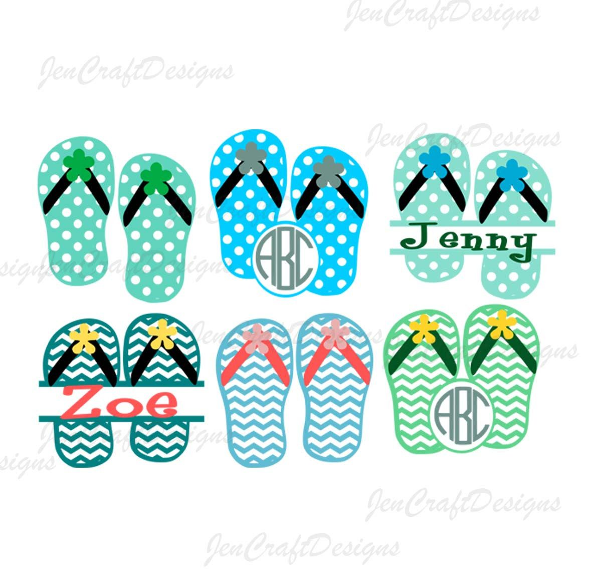 812070aeb Excited to share the latest addition to my  etsy shop  Flip Flops Monogram  frames