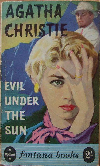Agatha Christie Evil Under The Sun Fontana Books 212 1957
