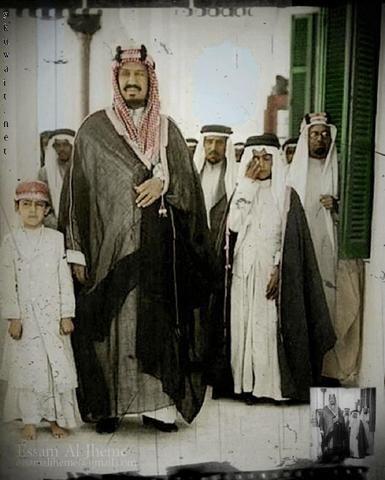 صور نادرة للملك عبدالعزيز وأبناءه Saudi Arabia Culture Arabian People Egyptian Kings