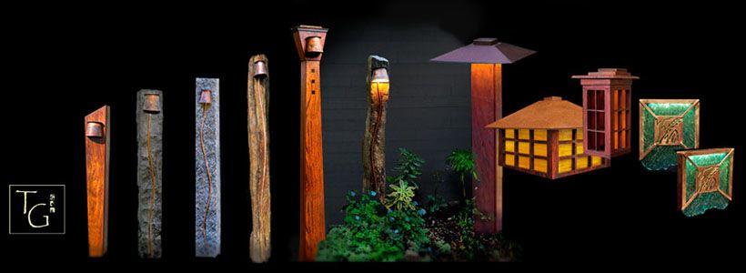 array of custom outdoor lighting for the home pinterest