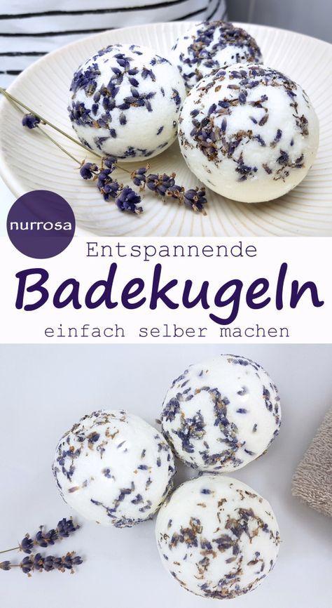 Photo of DIY bath balls with lavender DIY instructions for bath bombs Bath balls …