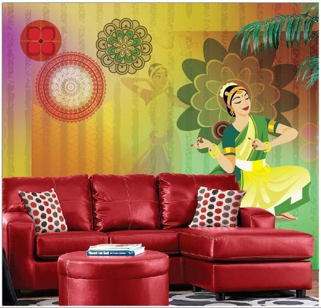 Wall Design & Art - Wallpaper by Alkemi Decor Designs   SPACEIO ...