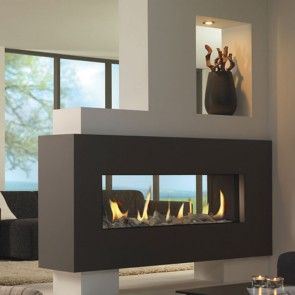 Fireplace Warehouse 1000 Flue Less Gas D Sided Built In No Frame Fireplace Design Outdoor Gas Fireplace Vented Gas Fireplace