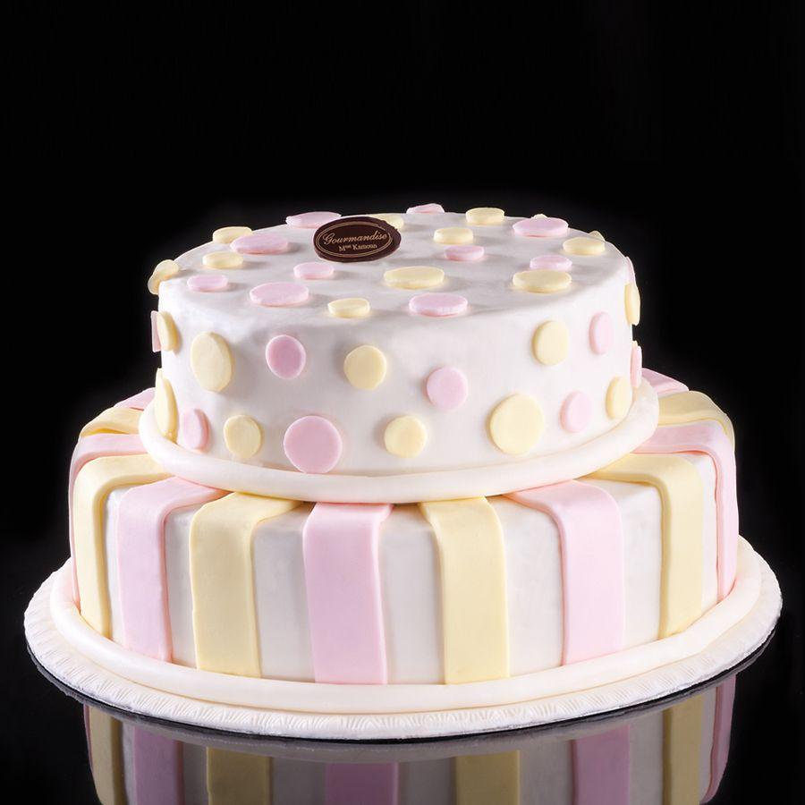 Romantica, Gâteaux d'anniversaire, De 90 à 100 personnes - Gourmandise Tunisie