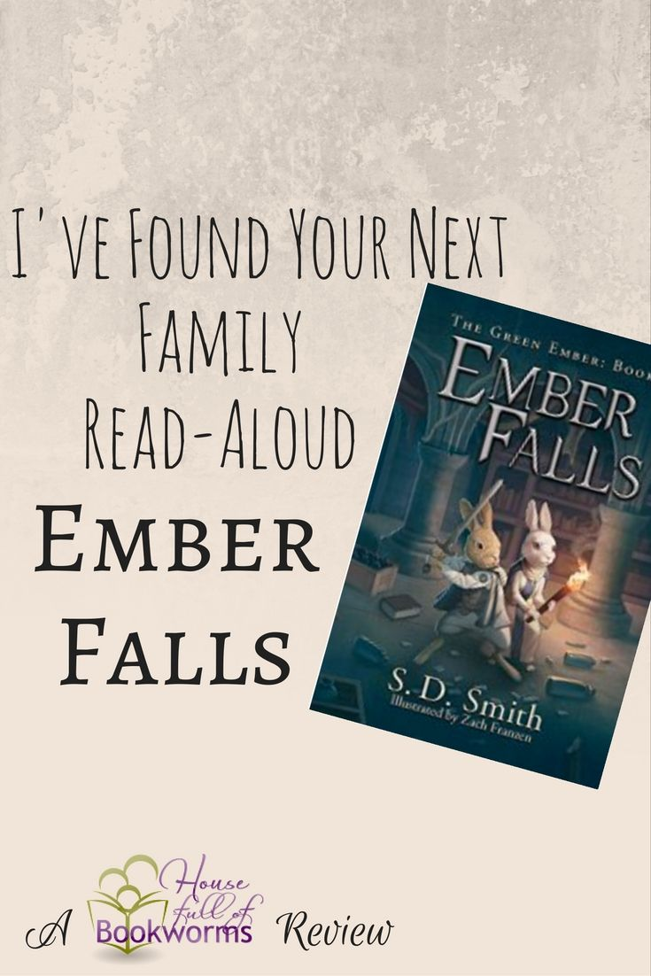 I just finished reading an advance copy of Ember Falls by S.D. Smith, and it is magnificent! Ember Falls, the sequel to The Green Ember, is full of twists and turns, intrigue, and action. Heather and Picket have grown into confident, mature characters, but all their resolve and commitment will be put to the test. They …