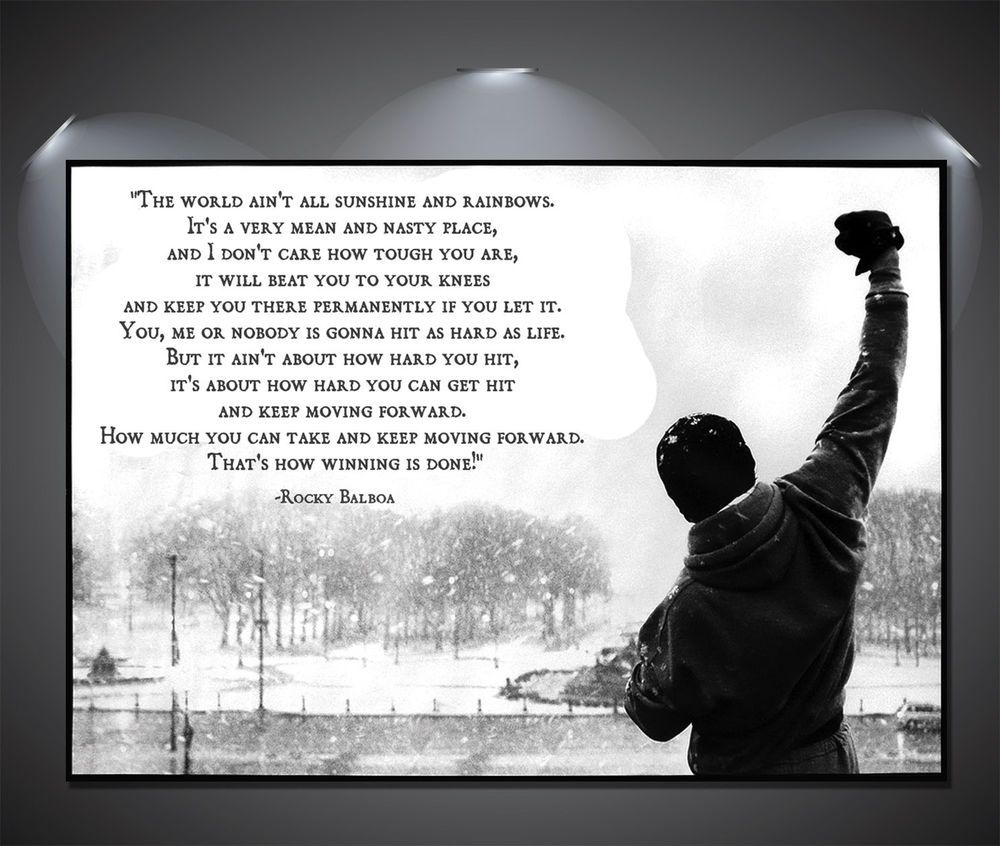 rocky motivational speech - Google Search | Rocky balboa ...