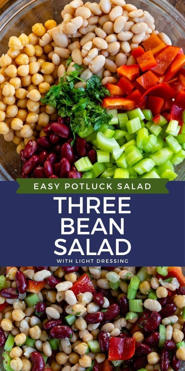 Easy Bean Salad Crazy For Crust Recipe In 2020 Bean Salad Recipes Bean Salad Recipes Easy Recipes With Kidney Beans