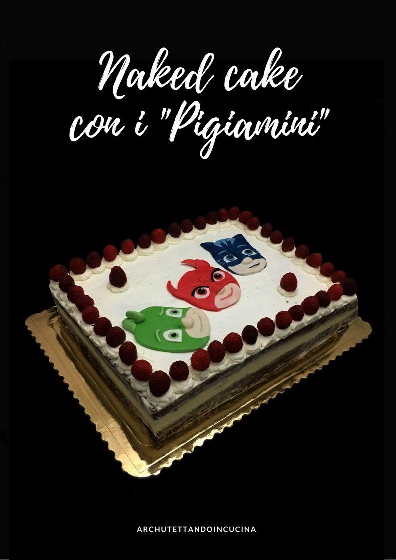 Torta A Strati Naked Cake Torta Di Compleanno Con Cremoso Al