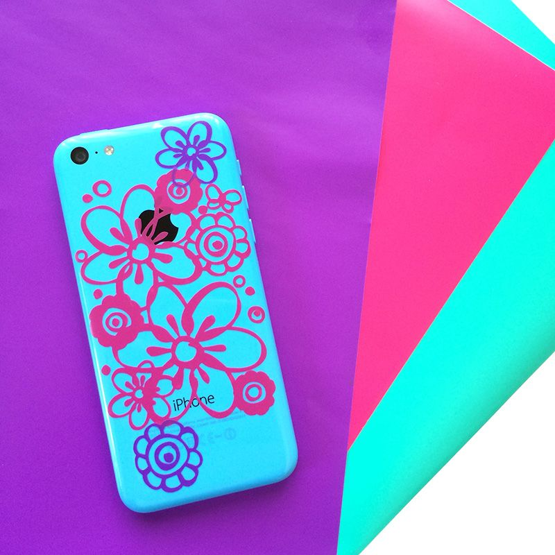 Make iphone decals for your phone designed by jen goode
