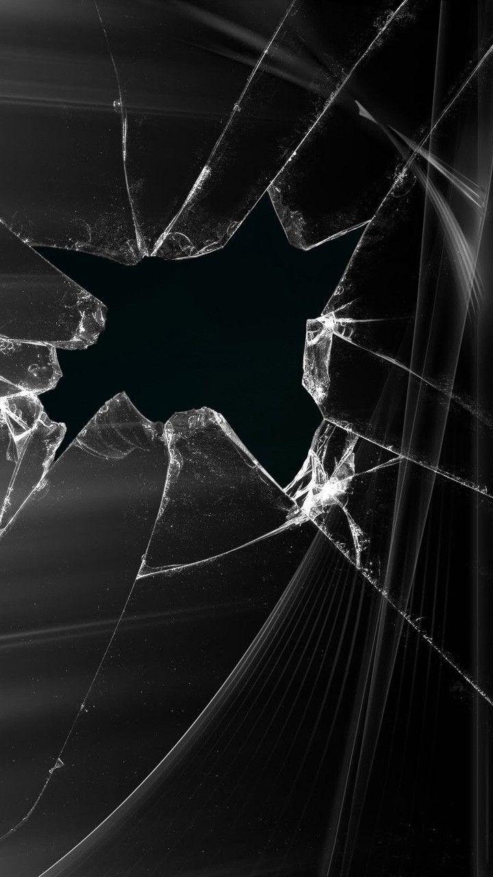 Pin by Kieran Paskins on Game Broken glass art, Black