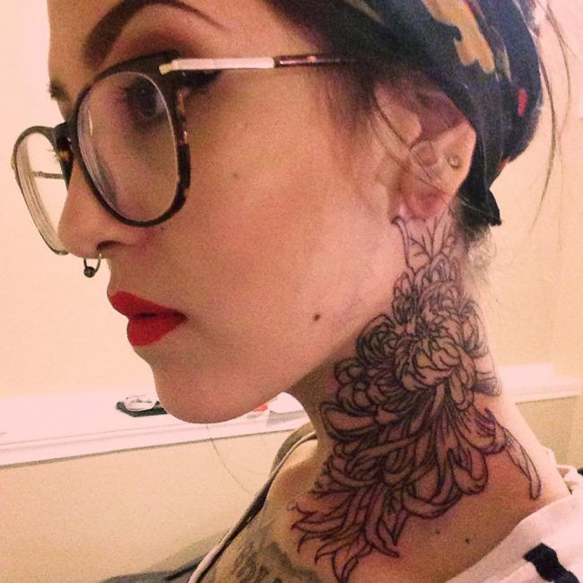 75+ Creative Neck Tattoos for Men and Women - Designs