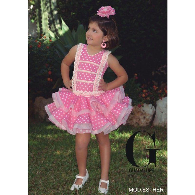 Traje de flamenca modelo Esther