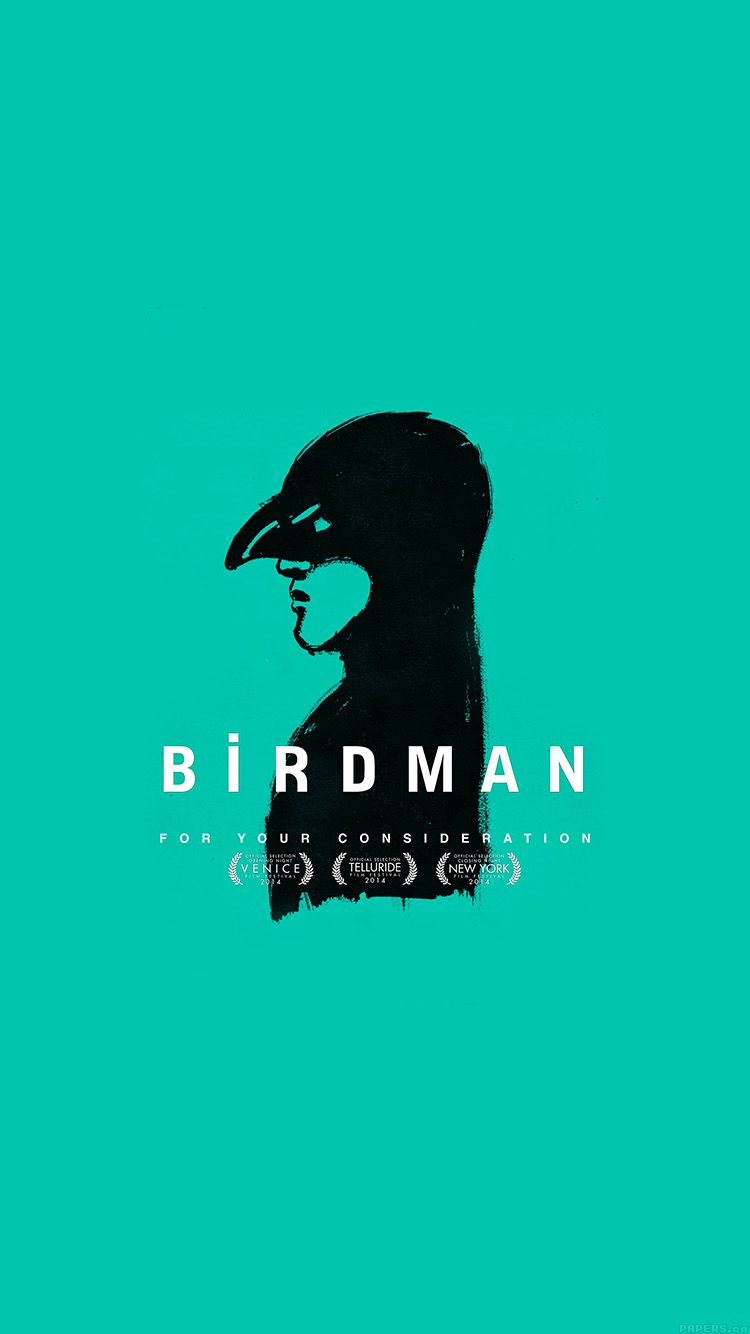 Ak60 Birdman Poster Green Film Birdman Iphone 5s Wallpaper