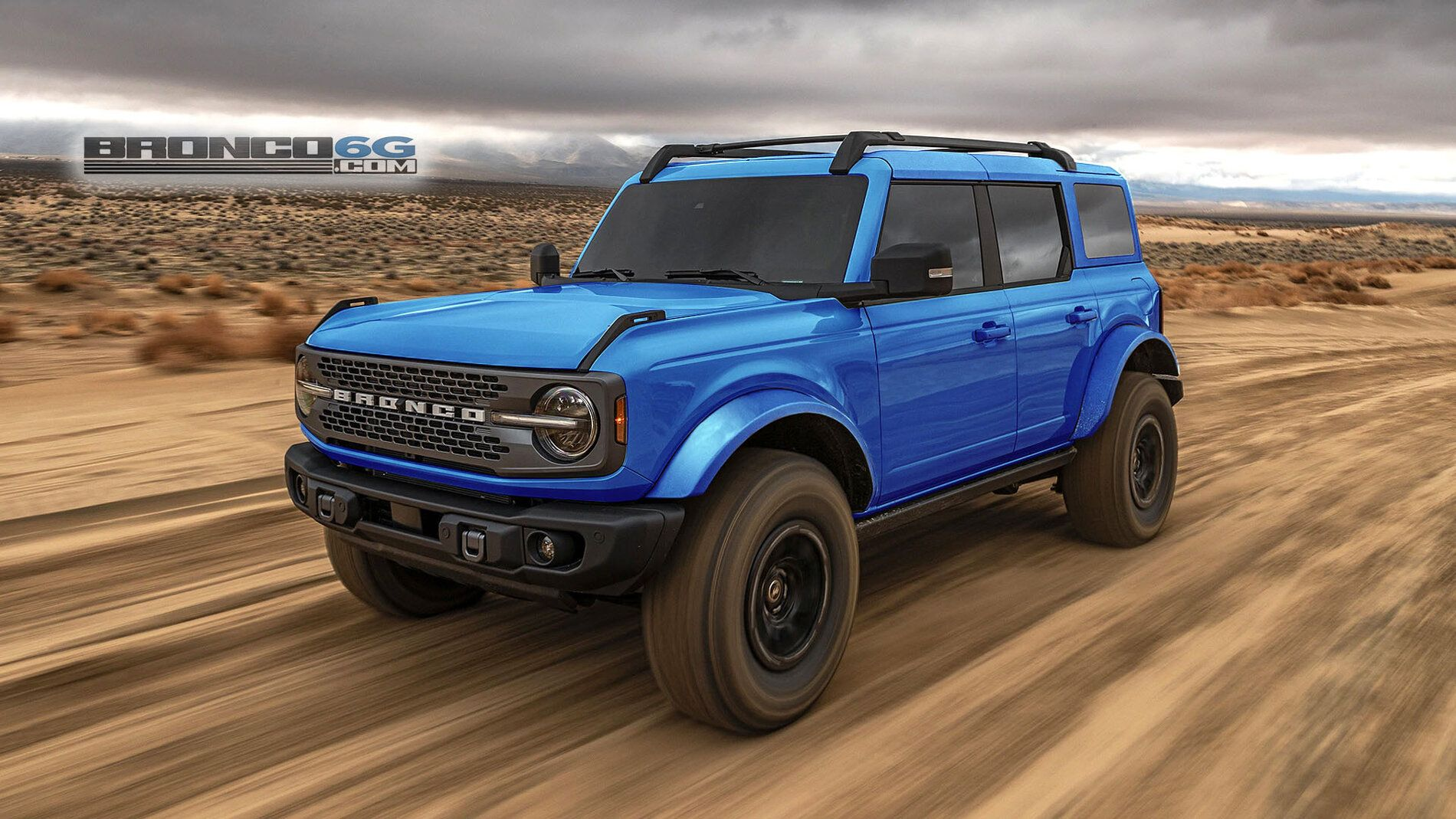 Our Latest Simulated Bronco Sasquatch In Production Colors White Tops Fenders Bronco6g 2021 Ford Bronco Forum News B Bronco New Bronco Fender Flares