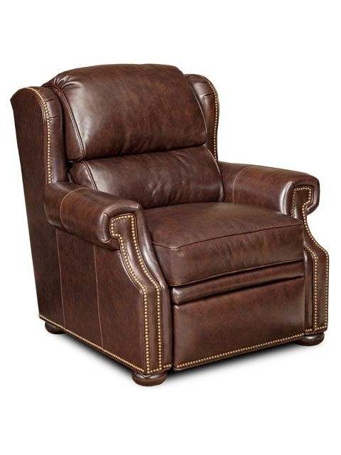 Good Looking And Comfortable Leather Recliner Americanmade
