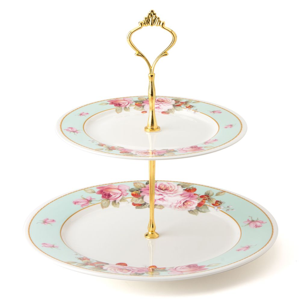 Robert Gordon Clementine Two Tier Cake Stand Peter's