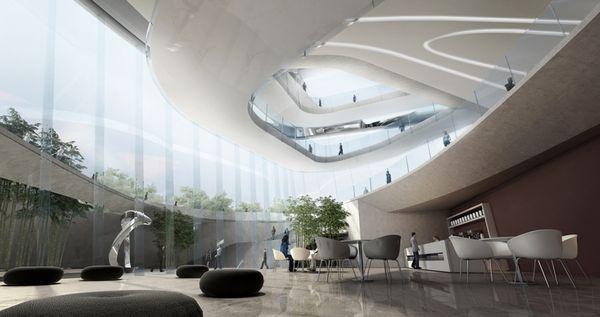 Dalian Museum Competition Design Concept 10 By DESIGN Via Behance