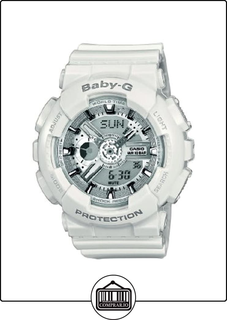 55d7aad867bc CASIO BABY-G BA-110-7A3 - Reloj de cuarzo con correa de resina unisex
