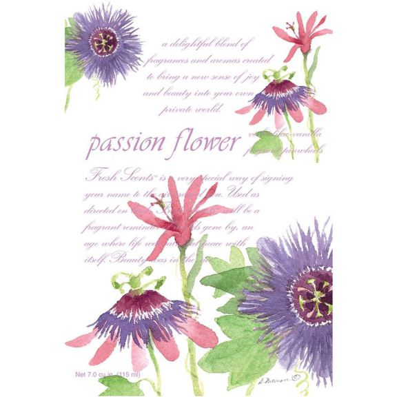 Fresh Scents Passion Flower Sachet 3 Pack By Willowbrook Flower Sachets Scented Sachets Passion Flower