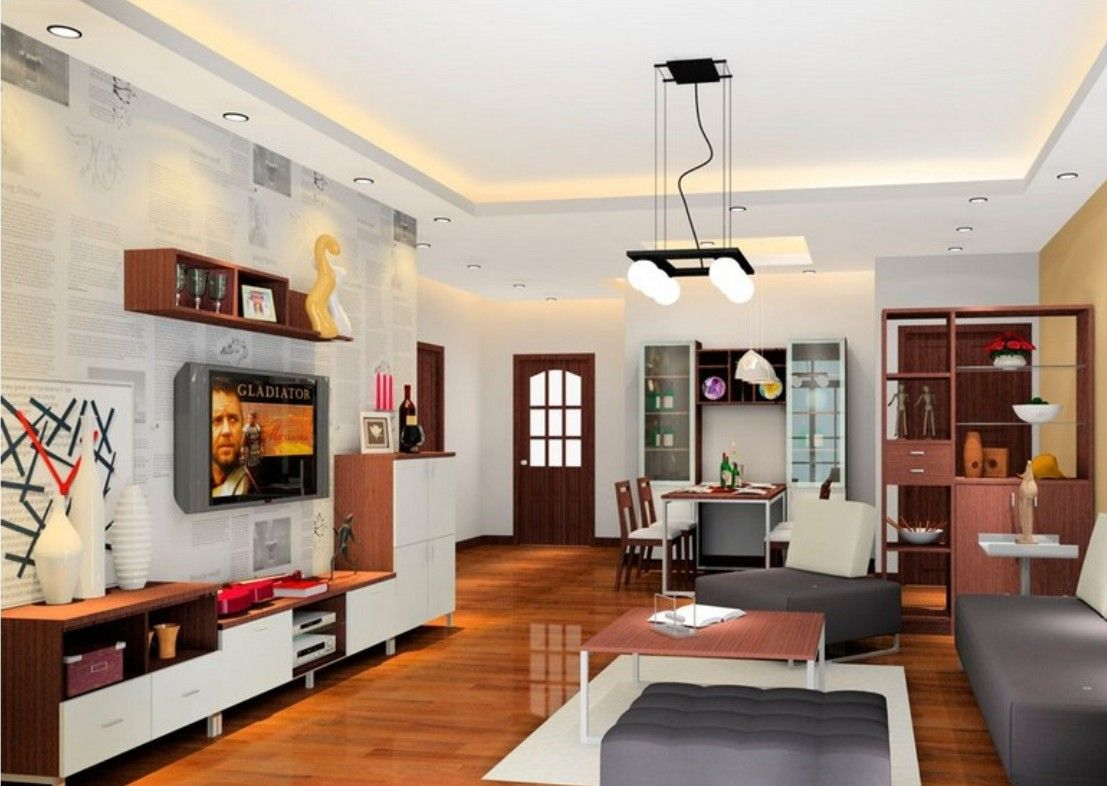 Overall Layout Of Living Room And Dining 1107x786