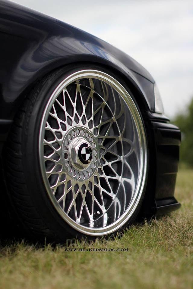 BMW E36, bbs, low, stanced